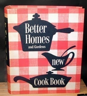1953 Better Homes Gardens New Cook Book In Excellent Vintage Condition.  Binder.