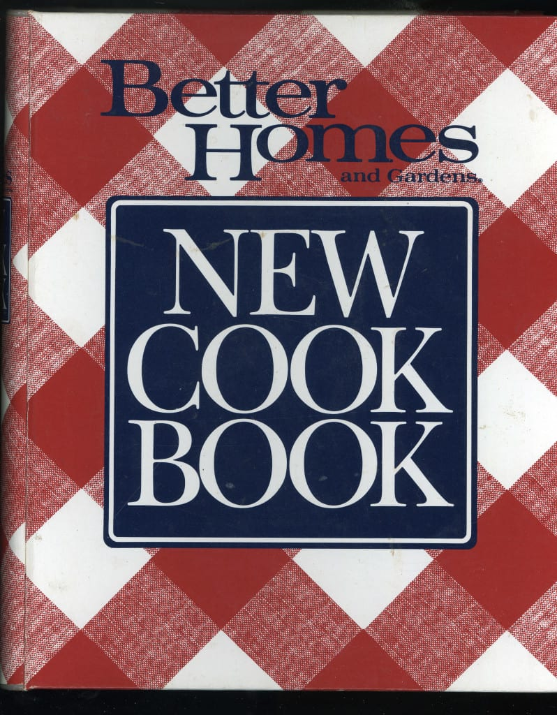 Better Homes Gardens New Cook Book 1989