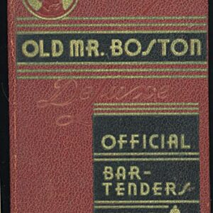 Vintage Bartender's Guides or Cocktail Books