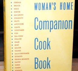 Woman's Home Companion Cook Book 1942 Wartime Postscript