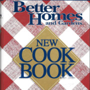 Better Homes and Gardens New Cook Book, 2000
