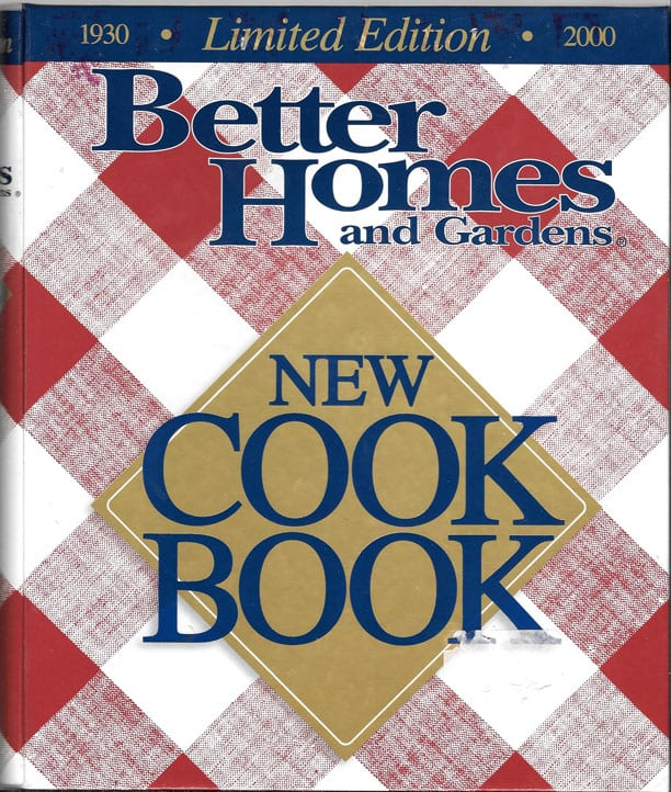 2000 Better Homes And Gardens New Cook Book