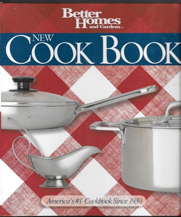 Better Homes And Garden Cookbook