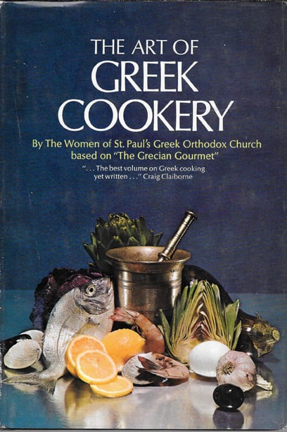 Art of greek cookery 1961 1963 as if new condition gift baklava ii recipe from art of greek cookery forumfinder Choice Image