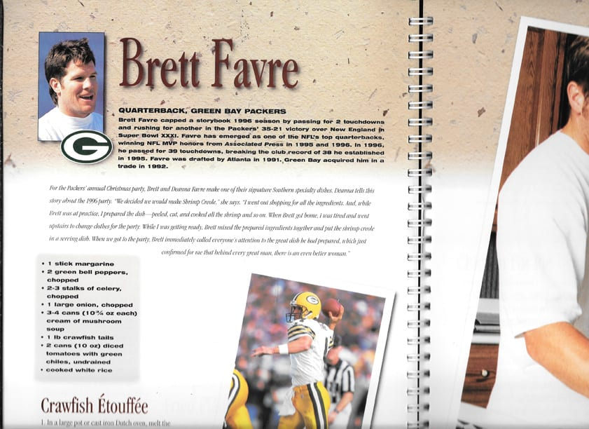 nfl family cookbook entertaining year round with the nfl vintage