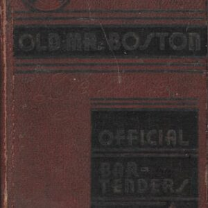 Old Mr. Boston First Edition Second Printing