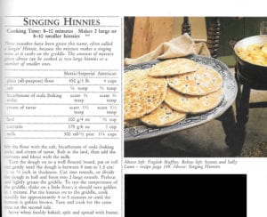 Singing Hinnes from Country Life Book of Good Cooking