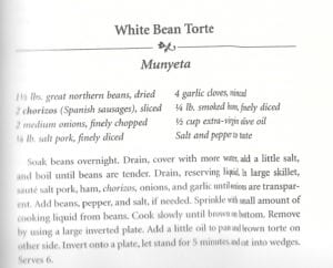 White Bean Torte from Columbia Restaurant Spanish Cookbook2