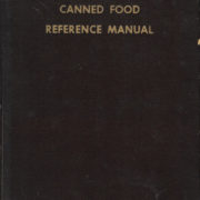 Canned Food Reference Manual