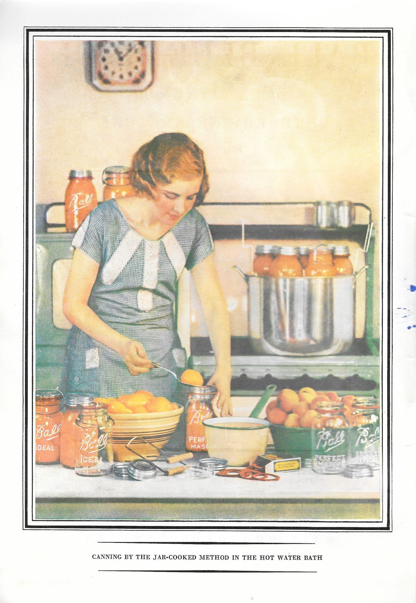 Ball Blue Book of Canning and Preserving Recipes, 1934, Edition R