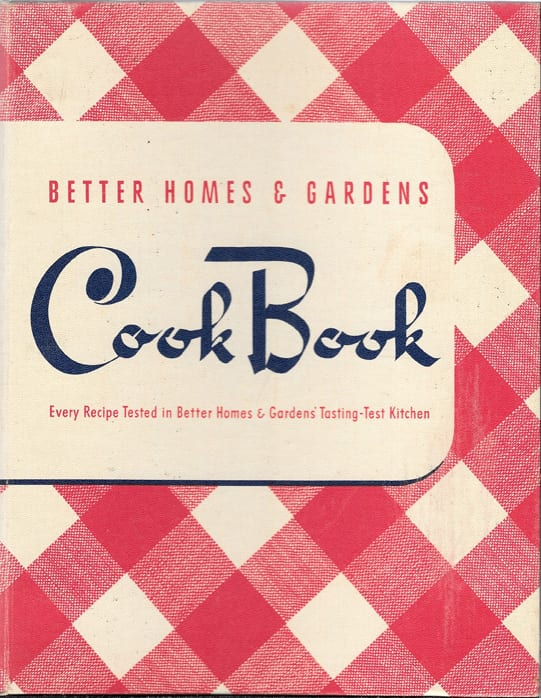 Better Homes And Gardens Magazine June 2017 Edition: Better Homes And Gardens Cook Book, 1941, 1946, As-If-New