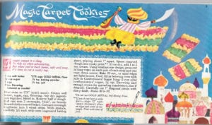 Magic Carpet Cookies from Betty Crocker's Bake Up a Story