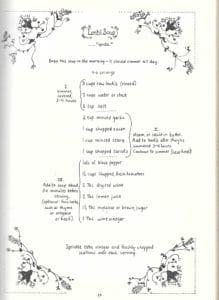 Lentil Soup from Moosewood Cookbook, 1977